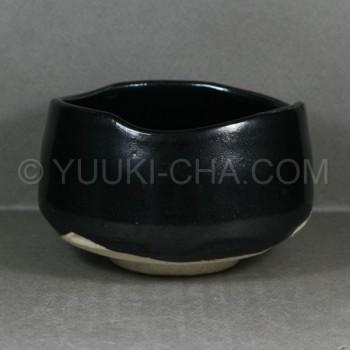 Yuzu Tenmoku Mino Yaki Matcha Chawan Tea Bowl