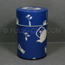Blue Chaki Tea Canister