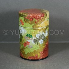 Red Ginga Green Tea Canister