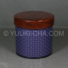 Blue Komon Tea Canister