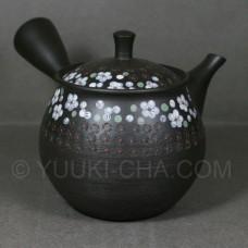 Shira Ume Tokoname Teapot