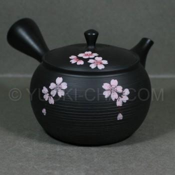 Sendan Sakura Tokoname Teapot