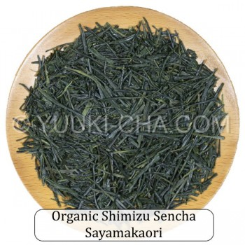 Organic Shimizu Sencha Sayamakaori