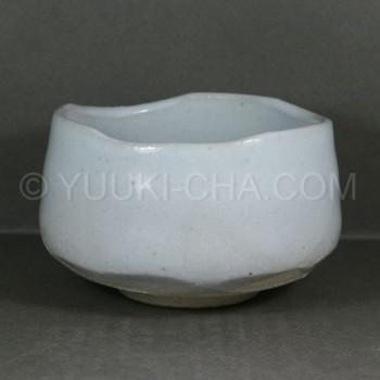 Shiro Kohiki Mino Yaki Matcha Chawan Tea Bowl