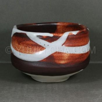 Zansetsu Mino Yaki Matcha Chawan Tea Bowl
