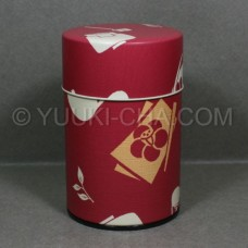 Red Chaki Tea Canister