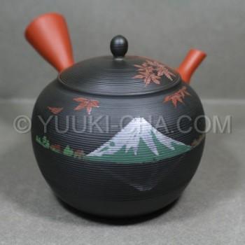 Momiji Fuji Tokoname Teapot