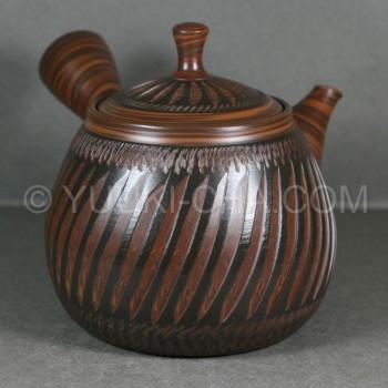 Shunzan Nerikomi Tokoname Teapot