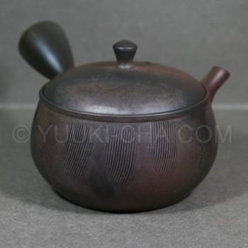 Yohen Kama Gata Kushime Tokoname Teapot